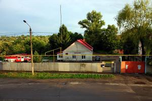 Пожарная часть в Малоархангельске.