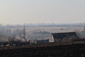 В деревне Мамошино.