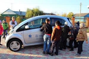 «Автопробег энергоэффективности» в Малоархангельском районе.