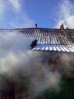 Пожар в деревне Арнаутово.