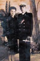 Николай Леонтьевич Внуков с супругой.