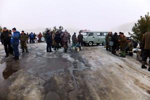 28 февраля 2015 года на водоеме «Новый Беленький» прошли соревнования среди любителей подледного лова рыбы.