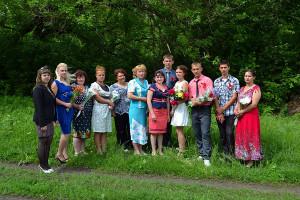 Последний звонок — 2013 в Ивановской средней школе.