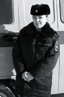 Лейтенант полиции А. И. Маслова.