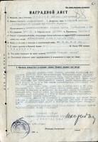 За успешное выполнение заданий командования гвардии генерал-лейтенант Рыбалко, командующий 3 гвардейской танковой армией, наградил гвардии подполковника Волкова орденом Отечественной войны II степени.