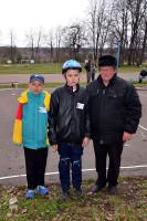 На конкурсе Безопасное колесо Малоархангельский район представляла команда ЮИД Каменской средней школы.