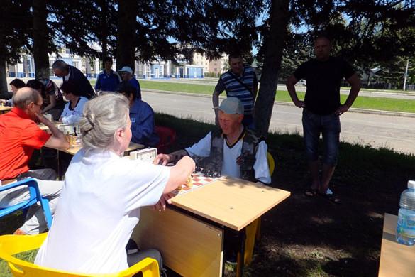 Сборная команда пенсионеров Малоархангельского района.