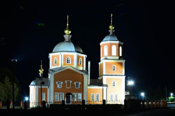 Храм в Малоархангельске.