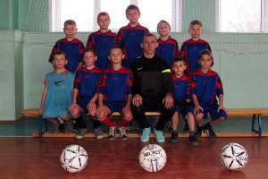 Малоархангельская команда по мини-футболу, победительница первенства среди юношей 2005—2006 г. р.