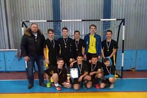 Малоархангельские футболисты заняли 3 место в чемпионате по мини-футболу.