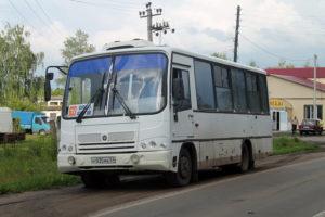 Автобус Орёл—Долгое.