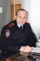 Начальник ОГИБДД майор полиции А. И. Смекаев.