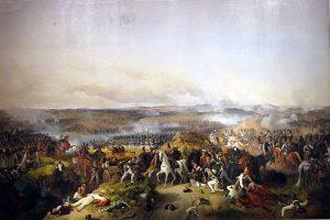 Сражение при Бородино. Картина Петера Гесса, 1843.