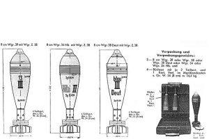 81-мм немецкая минометная мина 8-cmWgr. 38