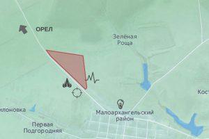 Расположение будущего кирпичного завода в Малоархангельске.