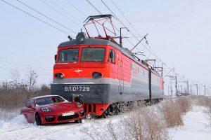 Случай на железнодорожном переезде.