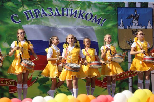Андрей Клычков принял участие в торжествах по случаю Дня Малоархангельского района.