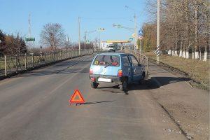 ДТП с автомобилем ОКА