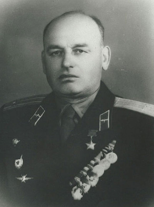 Герой Советского Союза Андрей Фёдорович Локтионов в послевоенные годы