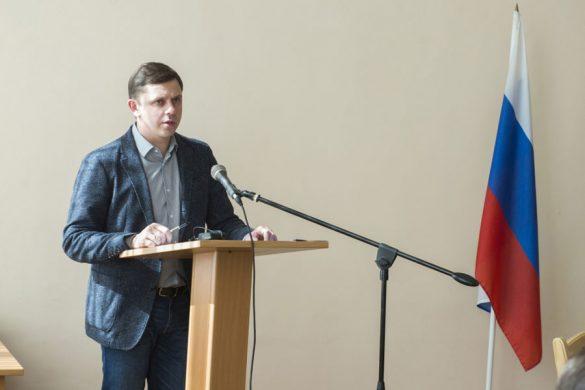 Андрей Клычков в Малоархангельском районе. Весна 2019 года.