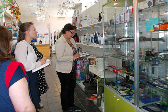 «Губернаторский контроль» проверил наличие оборудования для подключения цифрового телерадиовещания в торговых точках Малоархангельска