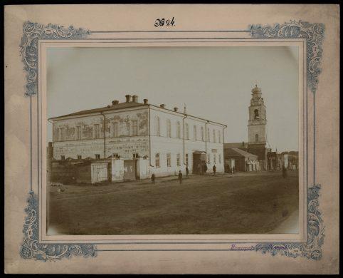 Здание полицейского управления в Малоархангельске (здесь работал Владимир Подгорецкий).
