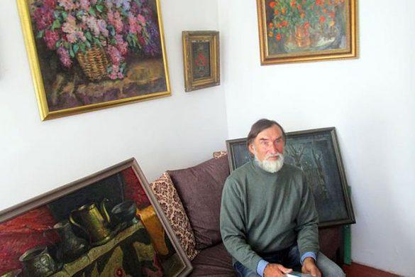 В селе Губкино у художника Юрия Черкасова