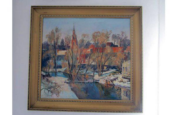 Юрий Черкасов и его картины