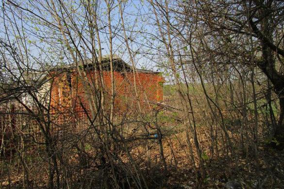 Кусок стены одного из тюремных зданий