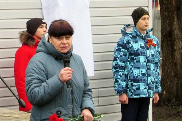 Открытие памятной доски Герою Советского Союза Гриневу М.А.