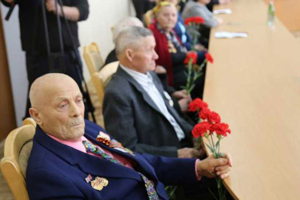 Юбилейную медаль «75 лет Победы в Великой Отечественной войне 1941-1945 гг.»
