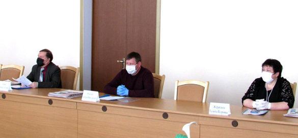 45-е внеочередное заседание Малоархангельского районного Совета народных депутатов