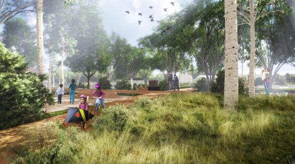 Проект Малоархангельского парка.