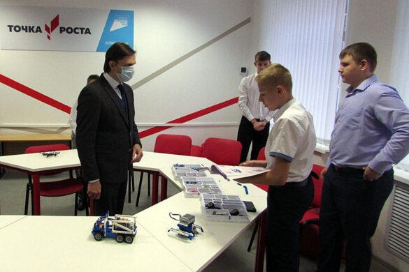 17 ноября 2020 года состоялась рабочая поездка Губернатора Орловской области А.Е.Клычкова в Малоархангельский район.