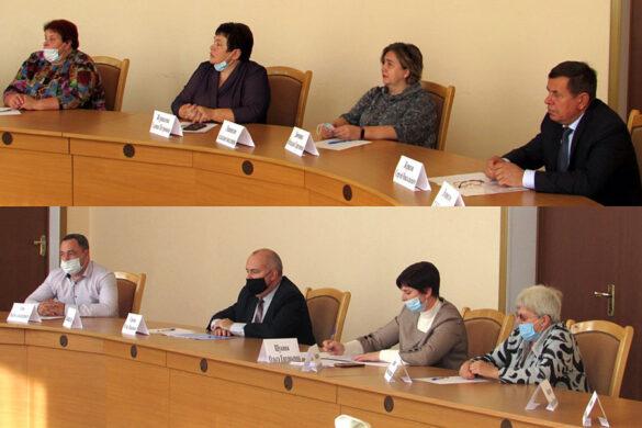 Первое заседание Малоархангельского районного Совета народных депутатов Орловской области шестого созыва.