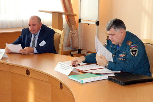 Командно-штабное учение в Малоархангельского районе, 2021 год.